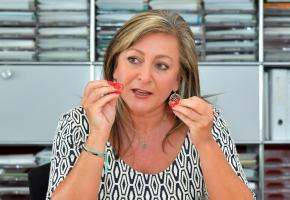 Nuria Gorrite, présidente du Conseil d'Etat vaudois. VERISSIMO