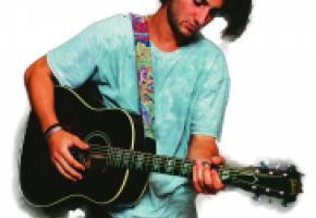 Musicien folk rock et sportif d'élite, le jeune Lausannois Pat Burgener présentera les compositions de son nouvel album sur la Place Centrale (scène Docks) . DR