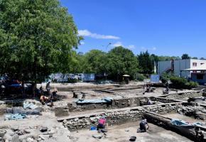 Les fouilles archeologiques de Lousonna-Vidy. IASA_UNIL