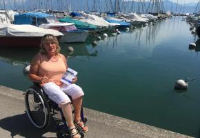 Anne Othenin-Girard, un dévouement sans bornes au service des handicapés. WULLSCHLEGER