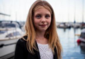 La jeune Lausannoise Livia Le Bon, vedette un peu malgré elle sur YouTube. DR