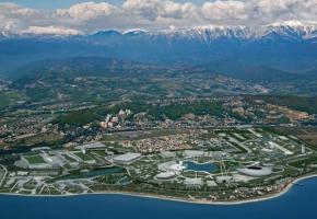 A coup de milliards de dollars, la petite station de la mer Noire s'est muée en site olympique ultramoderne. dr