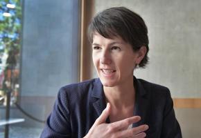 Florence Germond, municipale en charge des finances de Lausanne. VERISSIMO