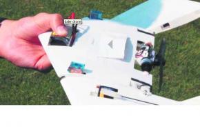 Un drone qui marche!