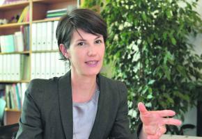 L'obsession de Florence Germond: garantir les prestations offertes aux administrés. © Valdemar VERISSIMO