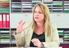 En fonction depuis le mois de juillet dernier, Nuria Gorrite gère des dossiers délicats. Valdemar Verissimo
