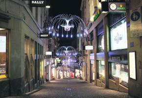 Poleen avait déjà illuminé la rue de Bourg l'année dernière. Elle le fera à nouveau cette année.