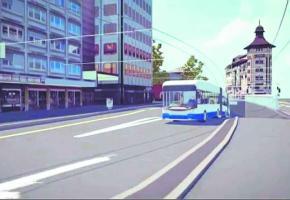 Les bus à haut niveau de service circuleront sur l'axe Chauderon - Grand-Pont qui sera fermée à la circulation.