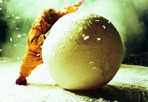 Spectacle en boules de neige