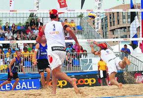 Le Beach Volley fait son show