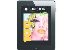 Sun Store J'adore, qui fait la part belle au glamour et à la beauté et qui fête sa 100e parution avec une édition collector, doublée d'une application Ipad interactive Sun Store Mag.