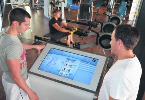 Sélectionné par la Chambre vaudoise de commerce et d'industrie, le «Tactile Trainer» commence à s'imposer dans les fitness.
