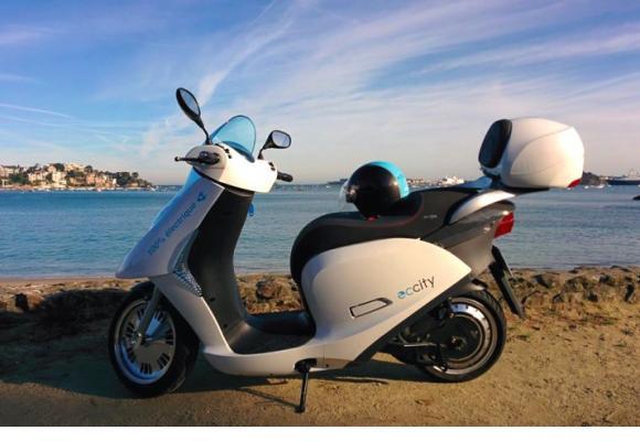scooter électrique ECCITY
