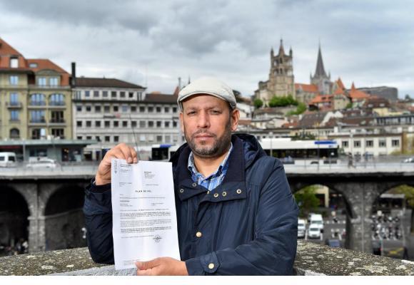 Mohamed S. a quitté le Maroc il y a 30 ans et vit à Lausanne depuis 2005. VERISSIMO