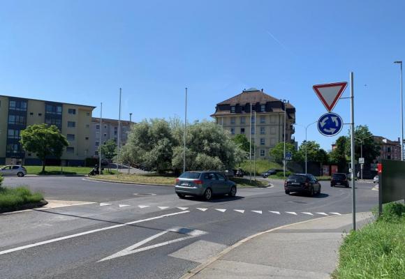 Avec celui de la Maladière, le giratoir de Malley est l'un des plus dangereux de Suisse . PHK
