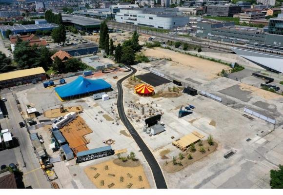 La «Malleytte» permettra aux habitants de redécouvrir leur quartier. FABRIQUE DE MALLEY