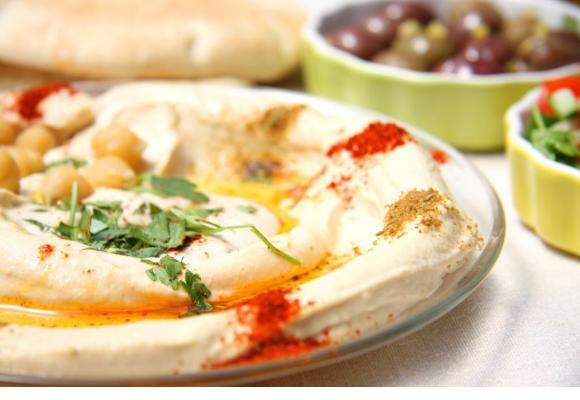 Le houmous, un plat très tendance, notamment à l'heure de l'apéro. DR