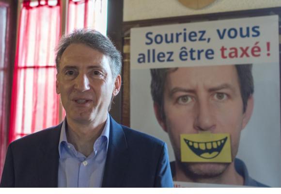 Dr. Bertrand Dubrez, président de la Société vaudoise  des médecins-dentistes dr