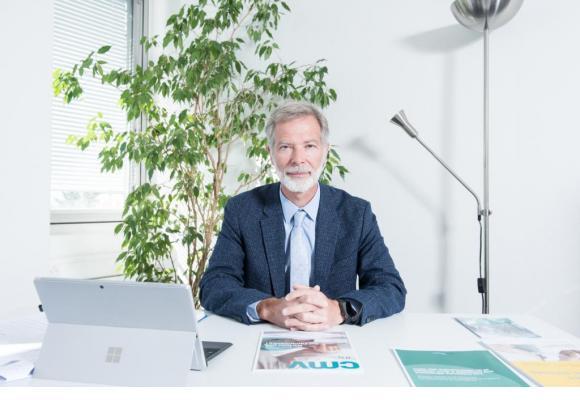 Dr Philippe Eggimann, président de la Société vaudoise de médecine dr