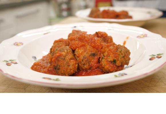 Boulettes à la sauce tomate (Polpette al pomodoro)