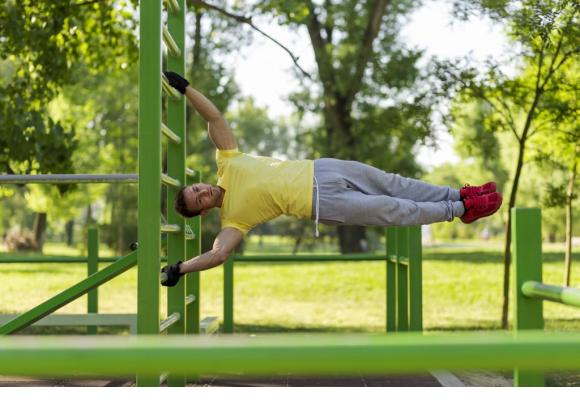 La Bourdonnette sera dotée dès ce week-end d'installations de «street workout». Photo d'illustration. 123 RF