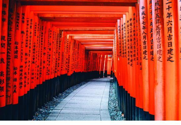Le sanctuaire shintô Fushimi Inari. PIXABAY
