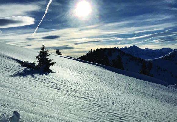 Le forfait Espace Torgon offre 130 km de pistes. DR