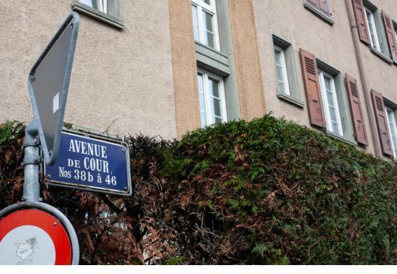 Démolitions et reconstructions vont avoir lieu à terme sur l'avenue de Cour. MISSON