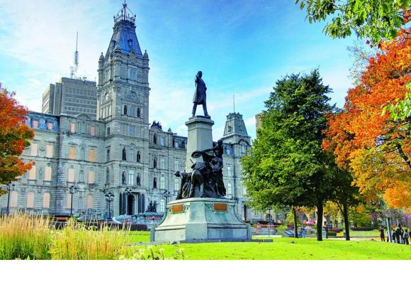 Le château Frontenac, symbole incontournable de la capitale du Québec. ISTOCK