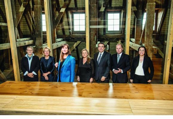 Le nouveau Conseil d'Etat vaudois. PHOTOMONTAGE LC/SIEBER