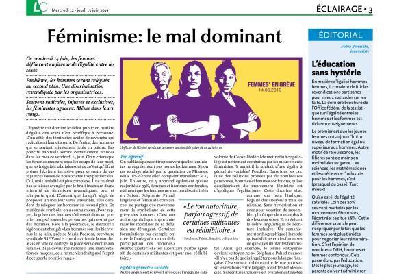 Dans la nuit de jeudi à vendredi, Lausanne Cités était brûlé sur la Place de la Riponne par de jeunes féministes radicales. VERISSIMO