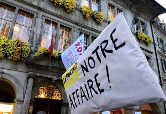 En novembre dernier, une pétition munie de 1700 signatures dénonçant la fermeture des offices postaux lausannois avait déjà été remise au Conseil communal de Lausanne. LFM