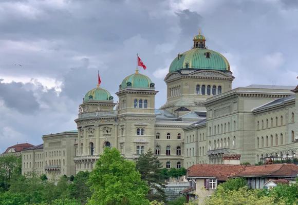 Les Romands ont soutenu le choix de Berne comme ville fédérale. DR