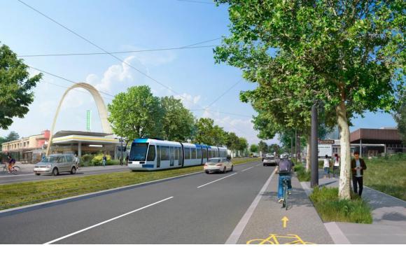 Les travaux préparatoires du chantier du tramway vont prendre leurs quartiers à Renens
