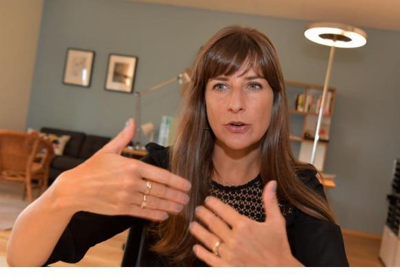 Rebecca Ruiz, conseillère d'Etat en charge de la santé. VERISSIMO