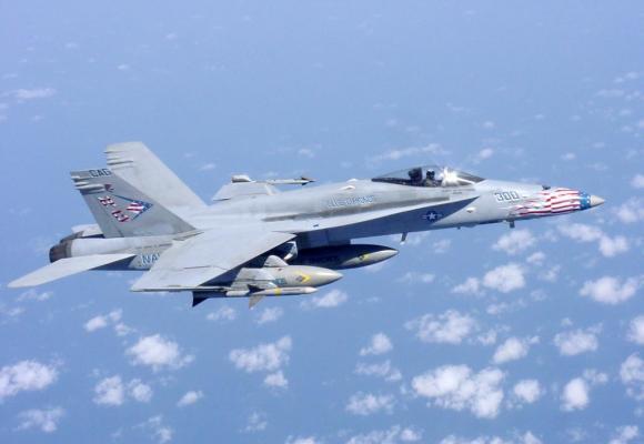 Le FA-18 sera obsolète en 2030. WIKIPEDIA