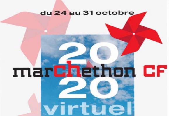 Contrairement à l'année dernière, le marCHethon 2020 se courra virtuellement. DR