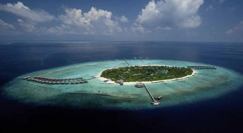 Un hôtel (ici The Beach House), une île.