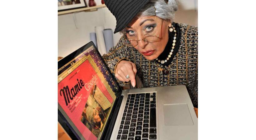 Mamie Google - théâtre du Croûtion au Bouveret