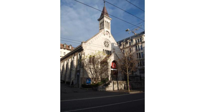 Reconversion - Temples et églises et revivent. DR