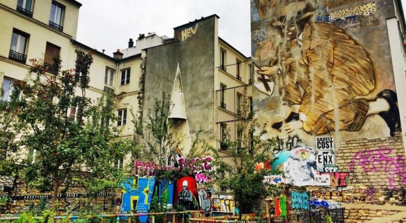 Le quartier a bien changé. François Kneuss