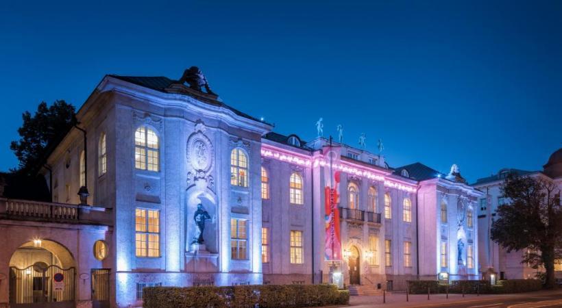 Le Mozarteum, l'université de musique (re)connue dans le monde entier, et voulue par la veuve de Mozart. CHRISTIAN SCHNEIDER