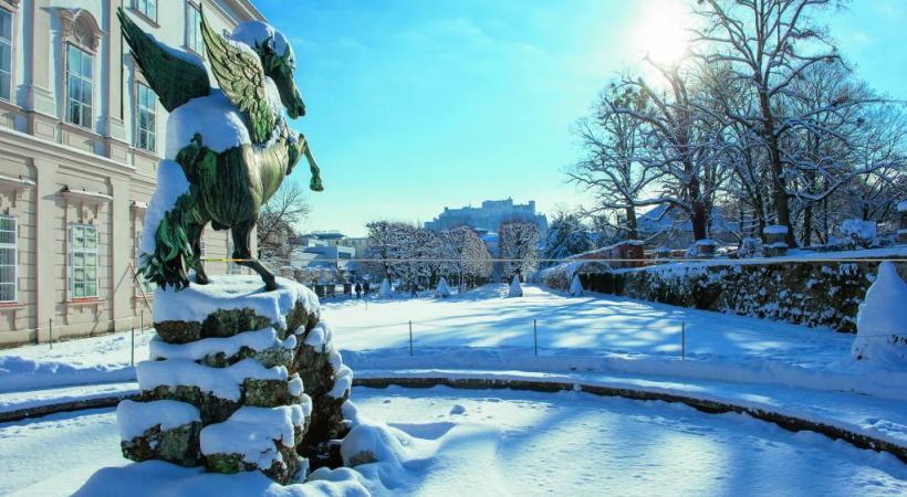 Les hivers sont rigoureux dans cette ville baignée par un climat continental