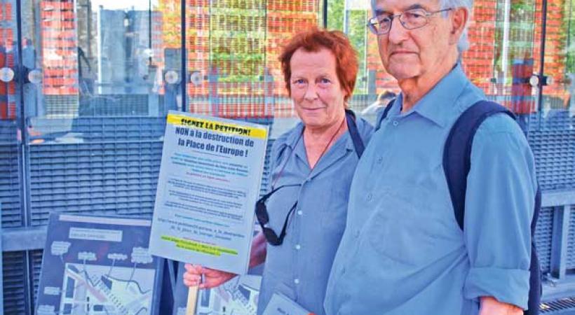 Agneta et Urs Zuppinger ne ménagent par leurs efforts pour sauver la place de l'Europe.KOTTELAT