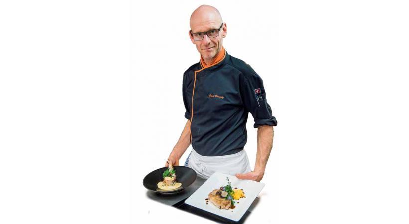 A l'occasion des fêtes de fin d'année, Lausanne Cités et son partenaire GastroVaud vous proposent un menu de fête. Il a été concocté par Gaël Brandy, chef de la Pinte Vaudoise à Pully.