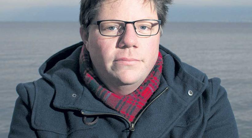 Christophe Grand, Président des jeunes POP Vaud. DR