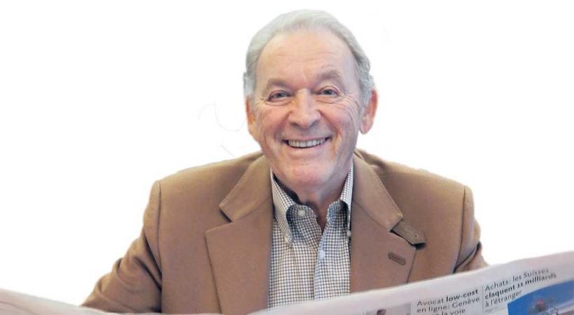 Jean-Marie Fleury, éditeur de Lausanne Cités. dr