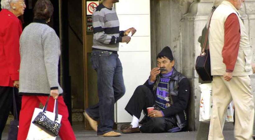Le nouveau réglement lausannois sur la mendicité va-t-il pousser les Roms à venir mendier à Morges? Beaucoup le craignent. VERISSIMO