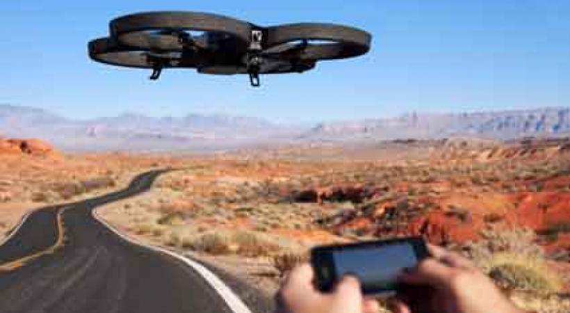 Drones d'oiseaux!