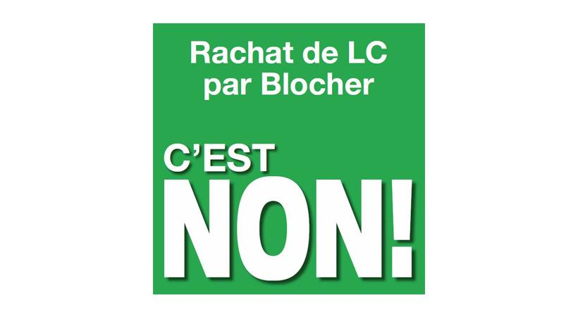 Rachat de LC par Blocher. C'est non!
